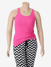 Wishful Park Pink Ribbed Tank Top – Plus-sizes