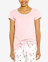 René Rofé Solid Color Pajama Top – Misses