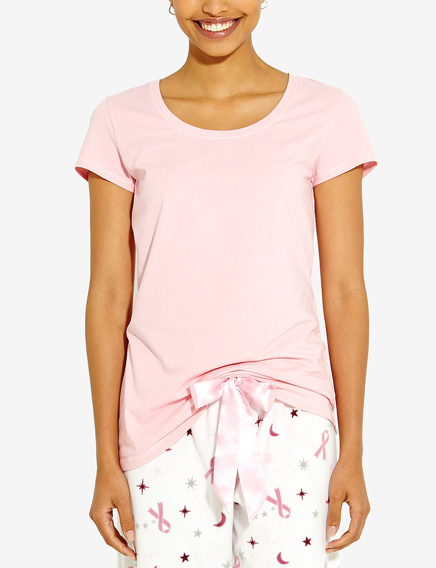Rene Rofe Pink Pajama Tops