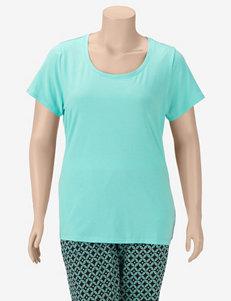 Rene Rofe Aqua Pajama Tops