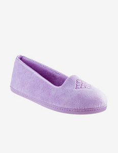 Dearfoams Velour Slippers – Ladies