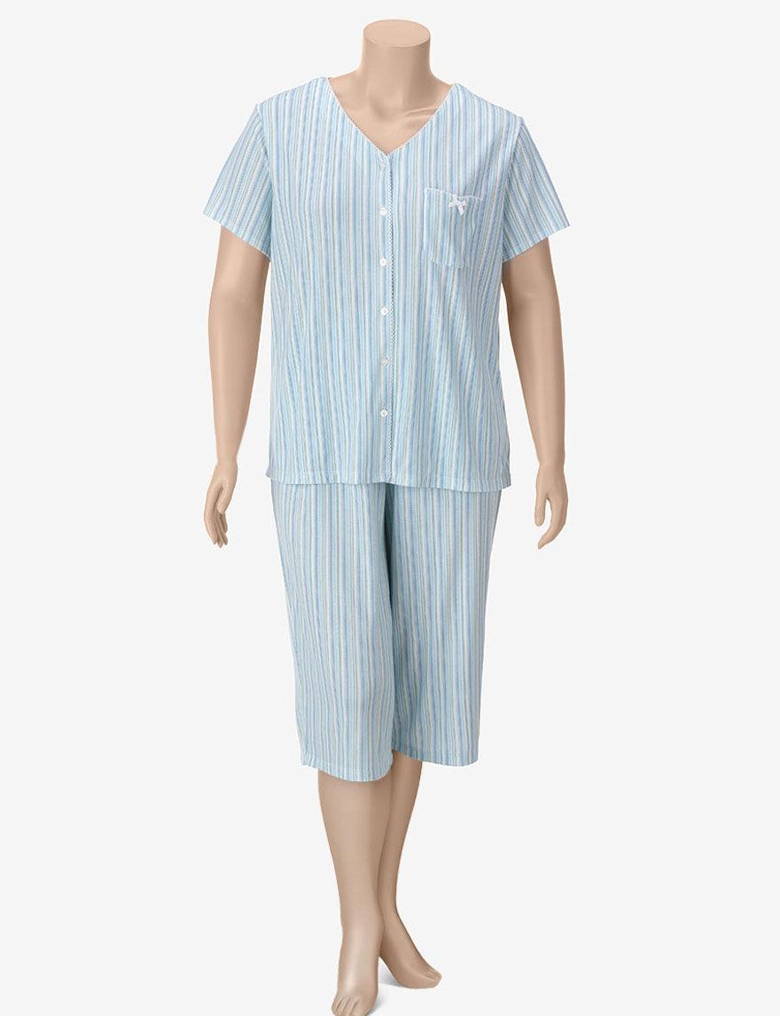 Karen Neuburger Aqua Pajama Sets