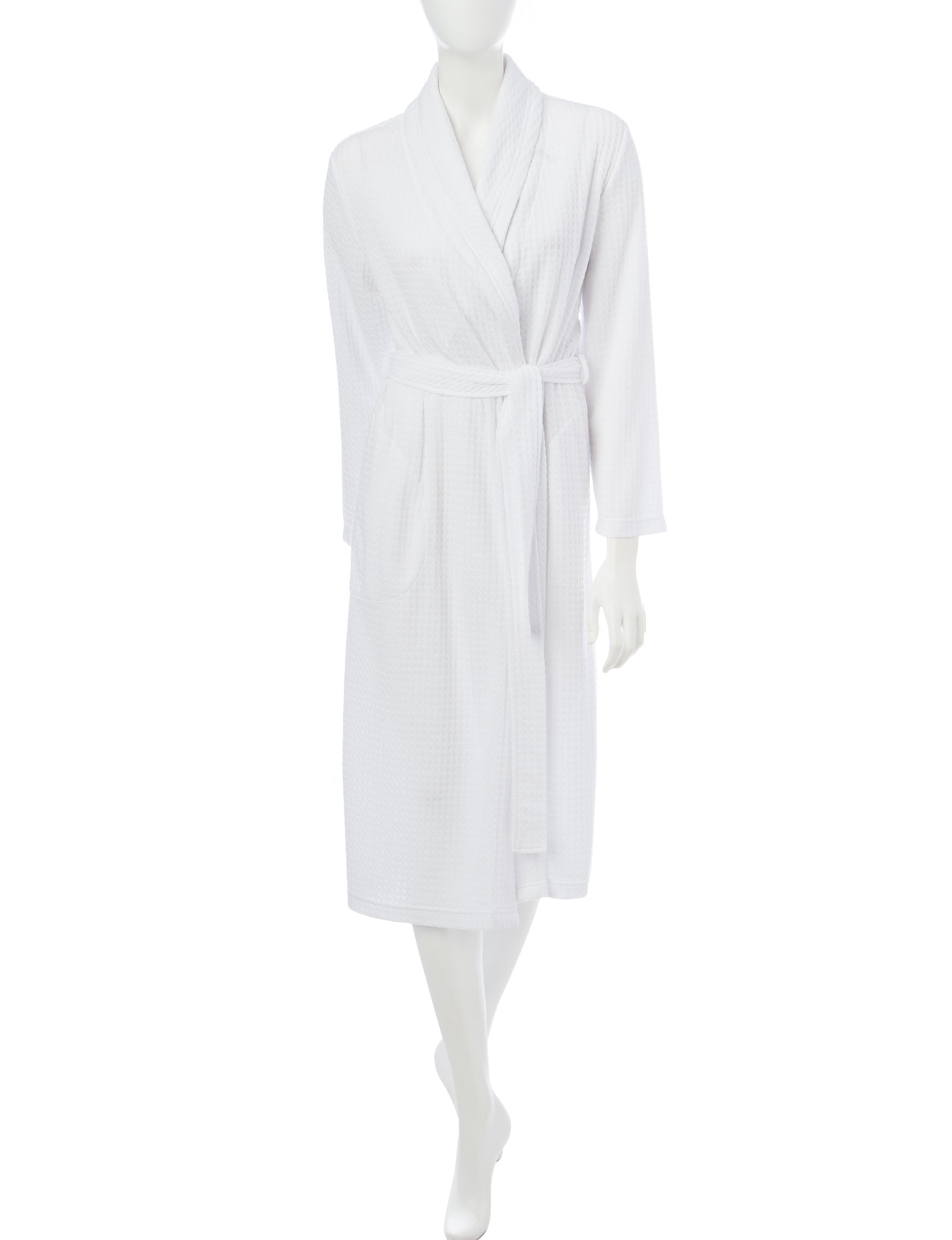 Jasmine Rose White Robes, Wraps & Dusters