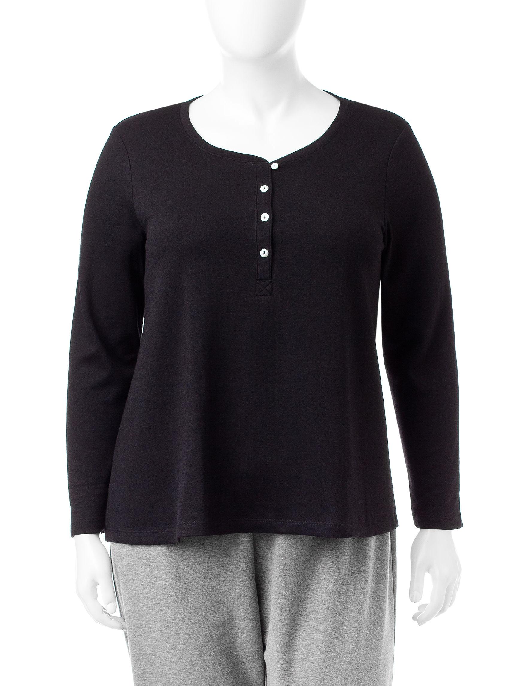 Hue Black Nightgowns & Sleep Shirts