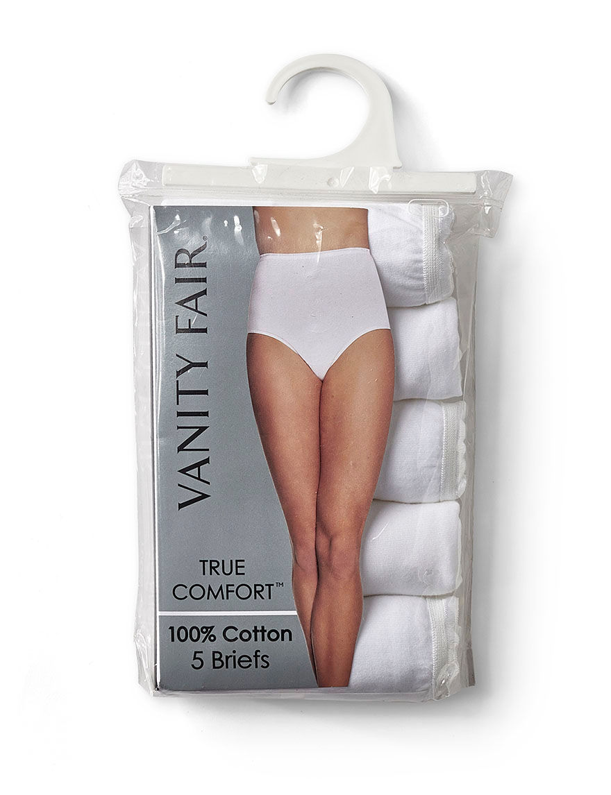Vanity Fair White Panties Briefs