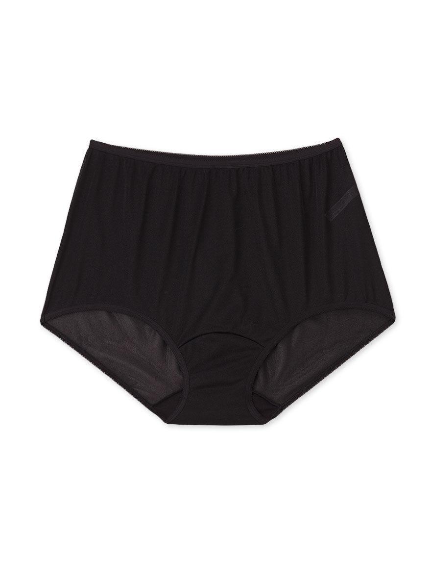 Lorraine Black Panties Briefs