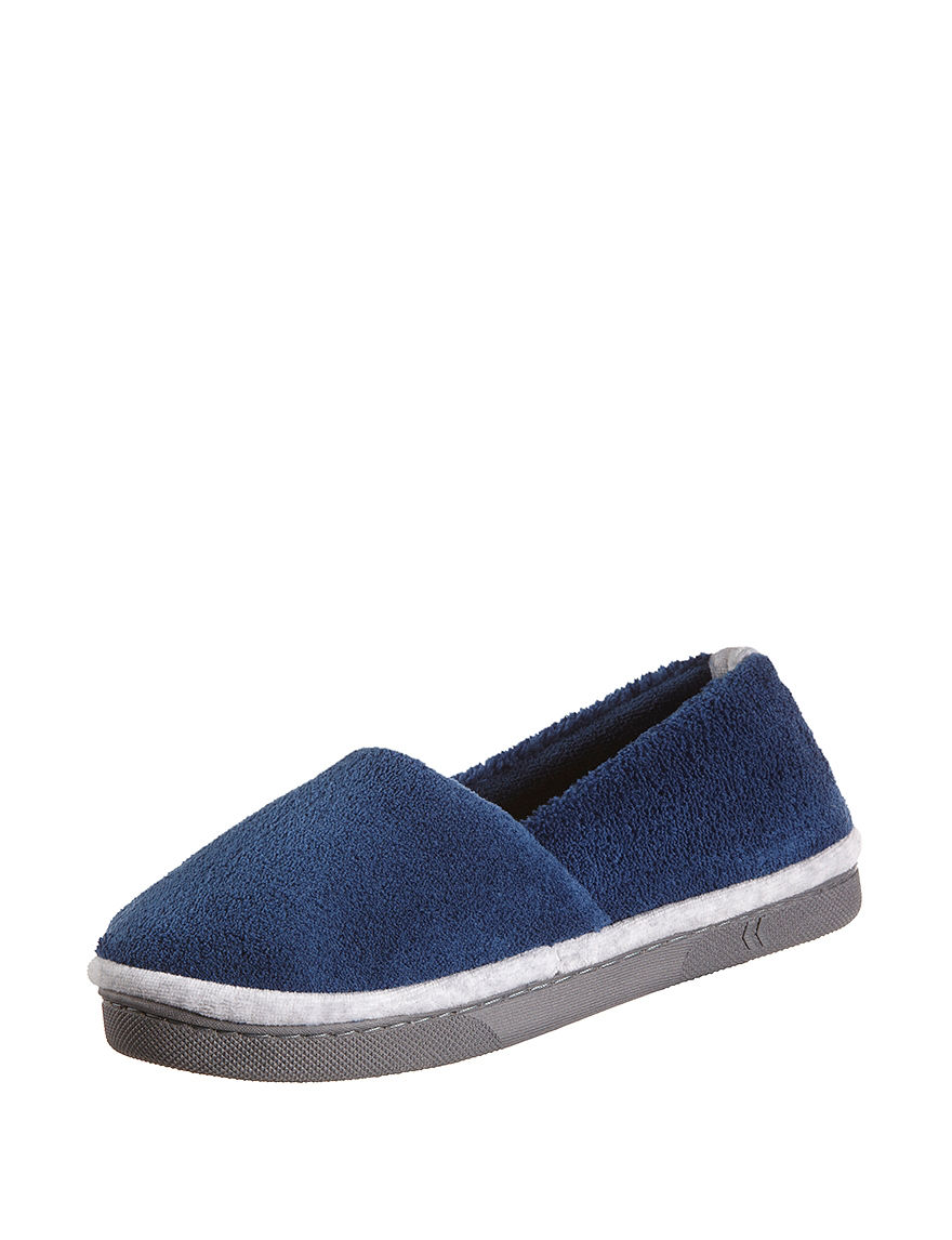 Isotoner Medium Blue Slipper Shoes