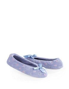 Isotoner Periwinkle Slipper Shoes