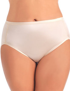Vanity Fair Beige Panties High Cut