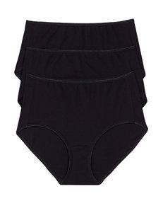 Jockey Black Panties