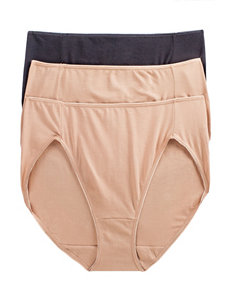 Jockey Tan Multi Panties Hi Cut