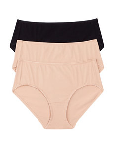 Jockey Tan Multi Panties Hipster
