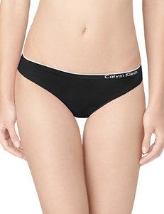 Calvin Klein Black Panties Full Coverage
