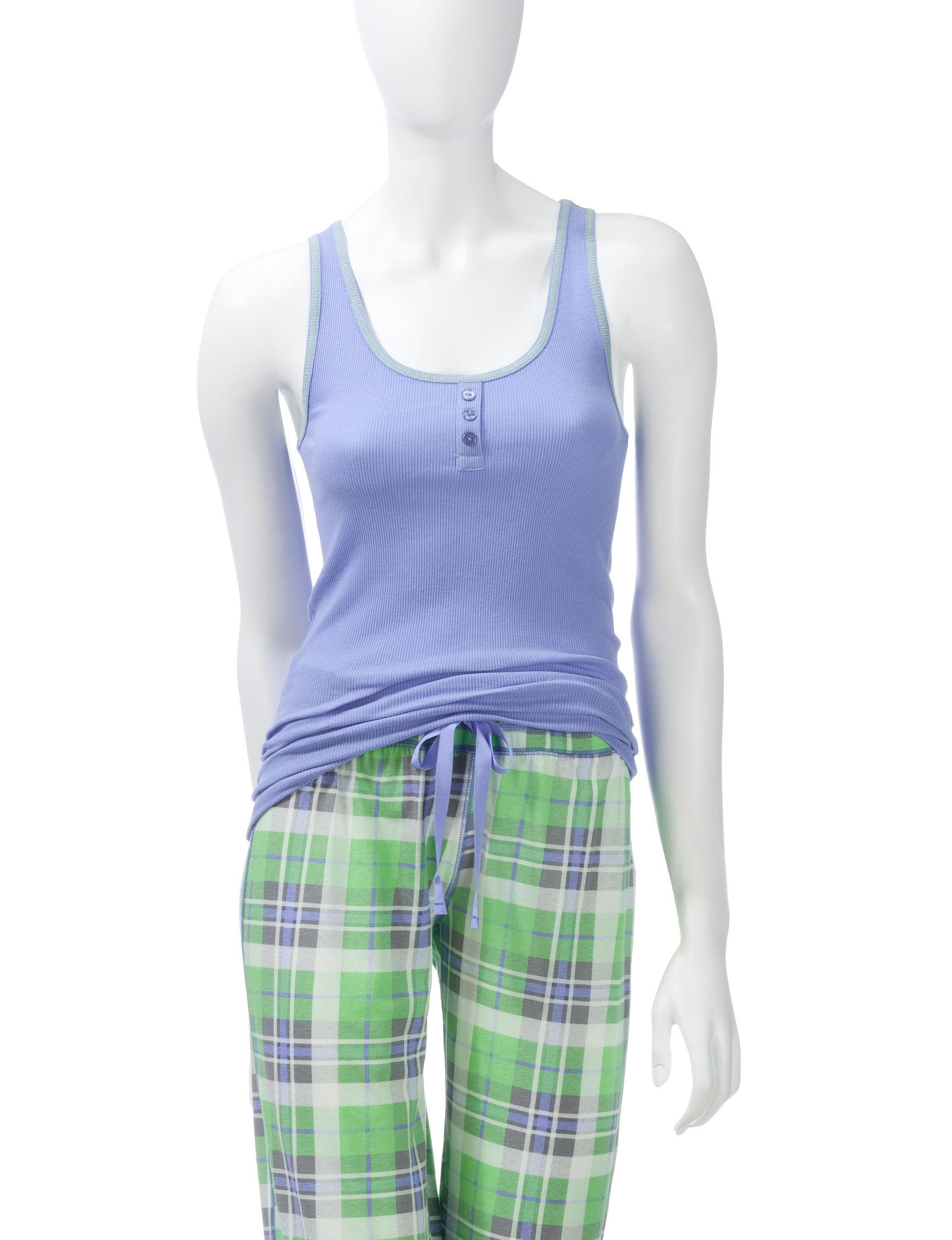 Wishful Park Blue Pajama Tops