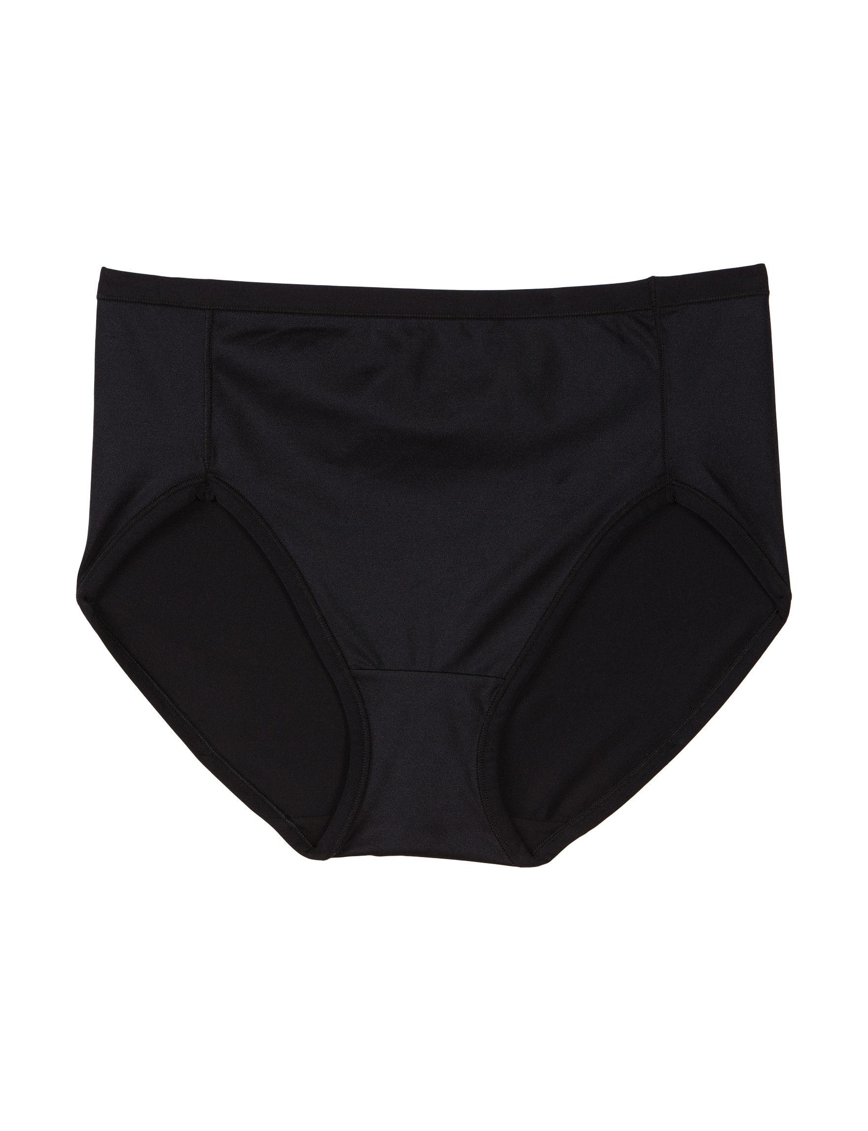Ellen Tracy Black Panties Slimming
