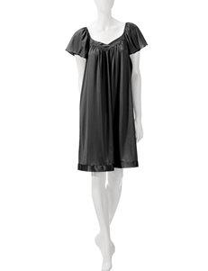 Vanity Fair Tricot Solid Color Short Gown – Misses