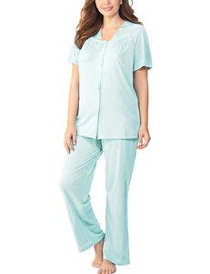 Vanity Fair Azure Mist Pajama Sets