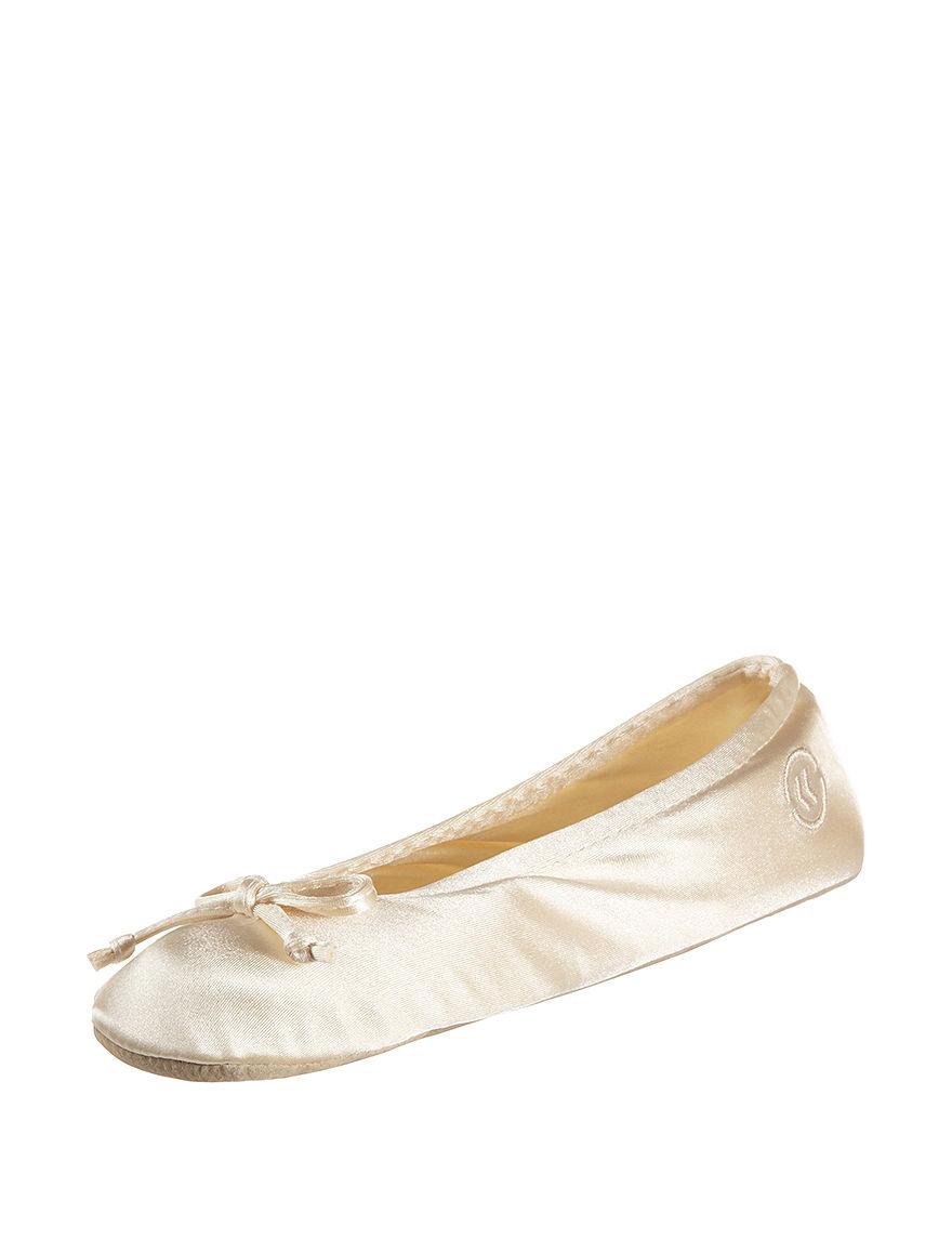 Isotoner Beige Slipper Shoes