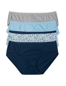 Hanes® 4-pk. Assorted Ultimate Cotton Comfort Hipster Panties