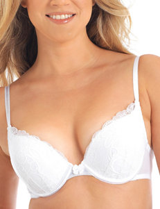 Lily of France White Bras Push Up