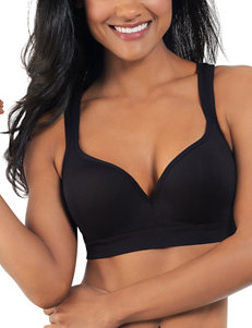 Lily of France Black Bras Sports Bra