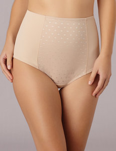 Ellen Tracy Beige Slips & Shapewear Briefs