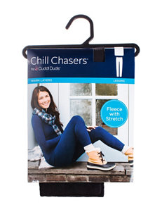 Chill Chasers® by Cuddl Duds® Warm Layers Stretch Fleece Leggings