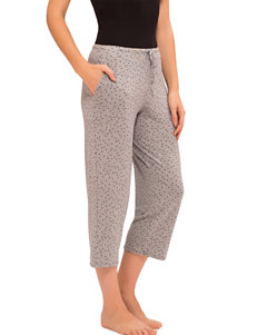 Ellen Tracy Grey Pajama Bottoms