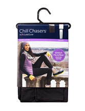 Chill Chasers® by Cuddl Duds® Plus-Size Warm Layers Stretch Microfiber Solid Color Leggings