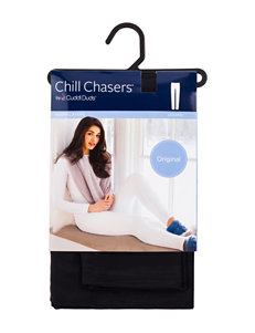 Chill Chasers by Cuddl Duds Plus-Size Warm Layers Original Solid Color Leggings