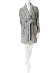 Laura Ashley Grey Fluffy Robe