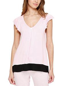 Ellen Tracy Pink Pajama Tops