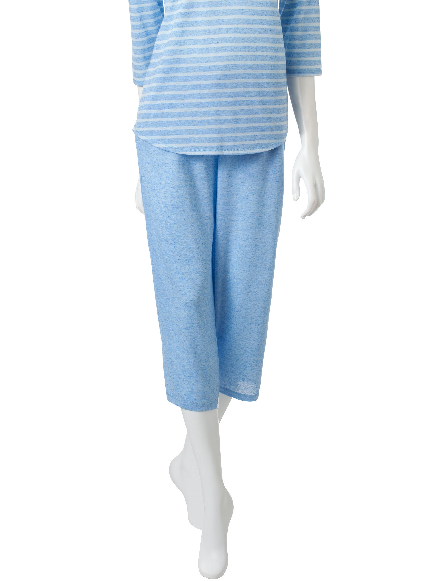 Jaclyn Intimates Blue Pajama Bottoms