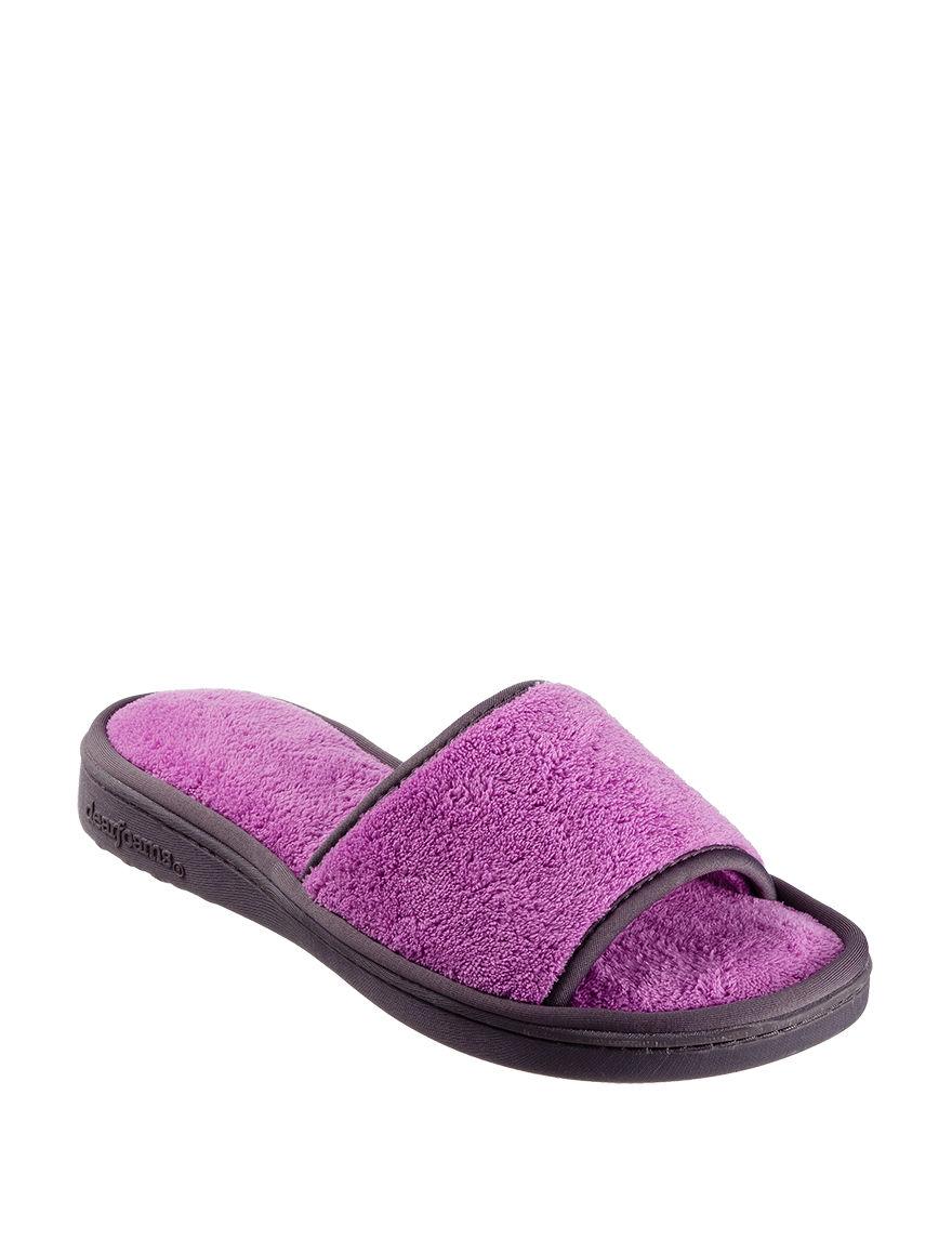 Dearfoam Iris Slipper Shoes