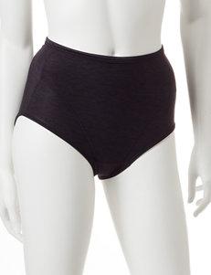 Vanity Fair Black Panties Hi Waist