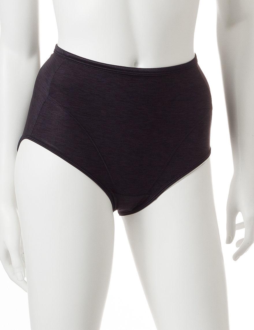 Vanity Fair Black Panties