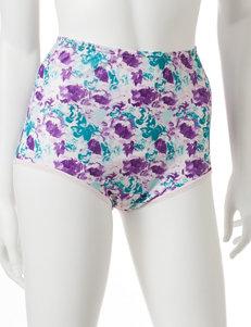 Vanity Fair Purple Multi Panties