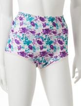 Vanity Fair Ravissant Floral Print Brief Panties