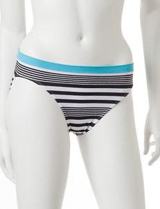Rene Rofe Black / White Panties Briefs