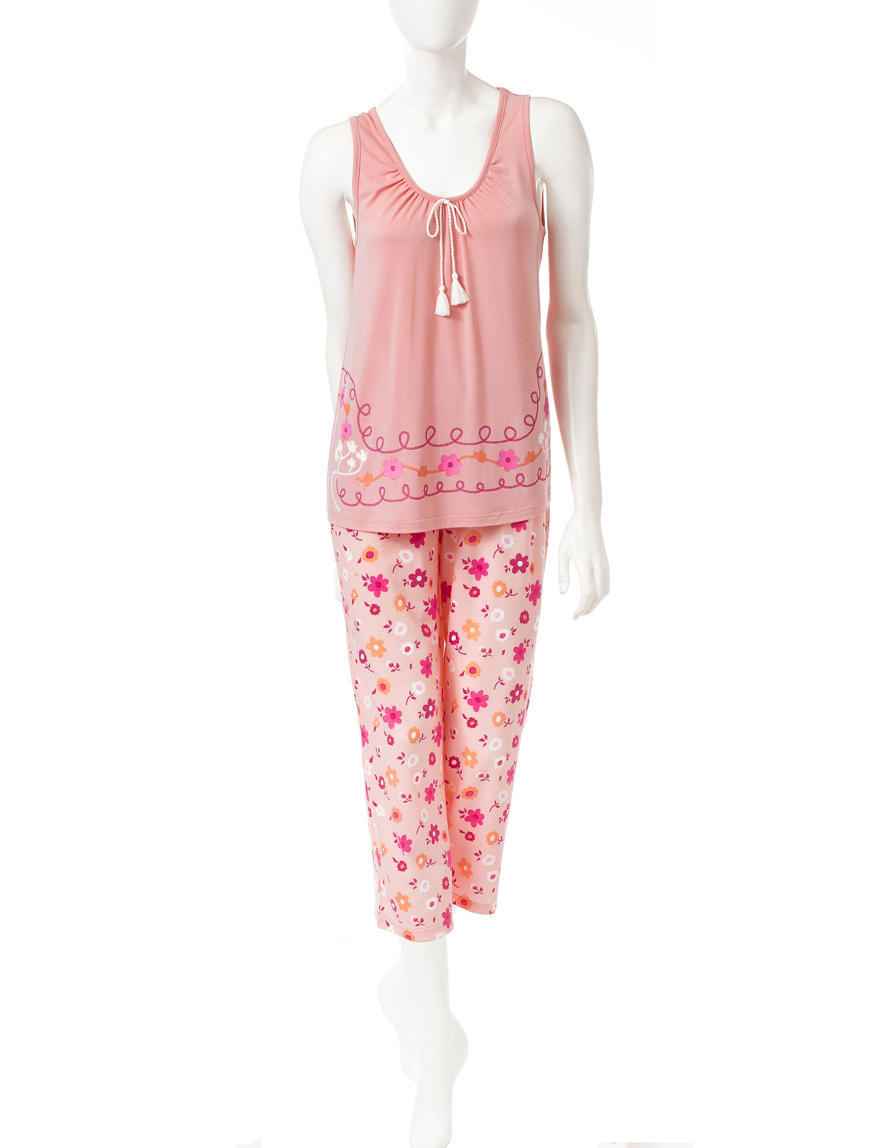 PJ Couture Pink Pajama Sets