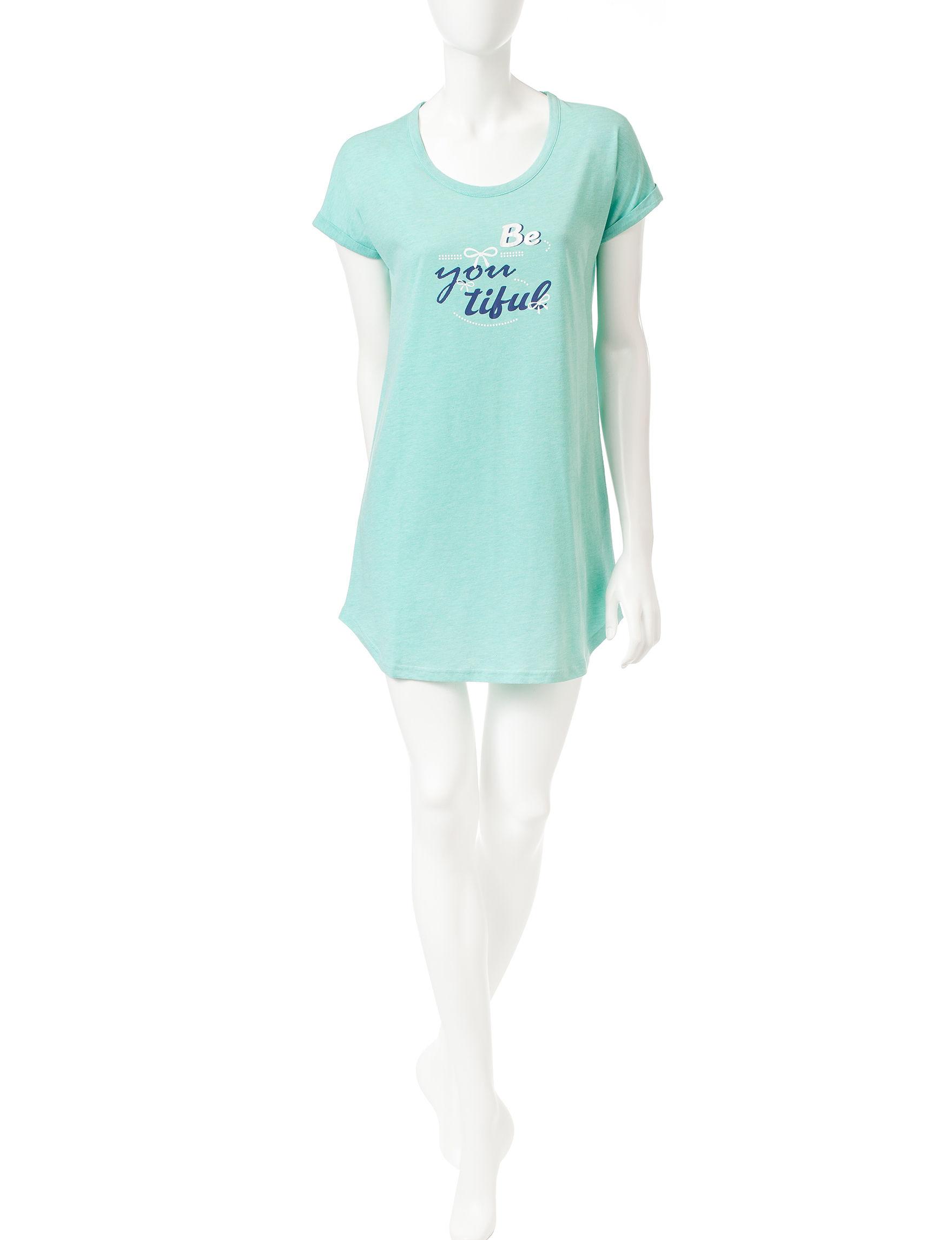 Goodnight Kiss Blue Nightgowns & Sleep Shirts