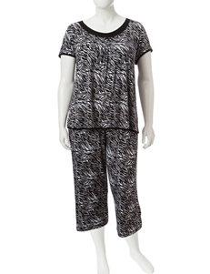 Rene Rofe Animal Print Pajama Sets
