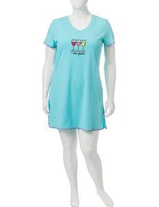 René Rofé Plus-size 'I Need Glasses' Sleep Shirt