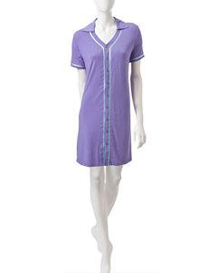 Hanes Purple & Mint Sleep Shirt