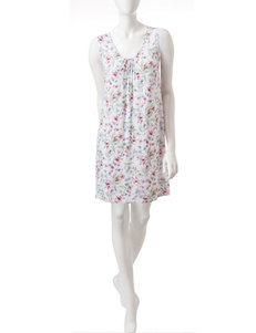 Aria Floral Print Nightgowns & Sleep Shirts