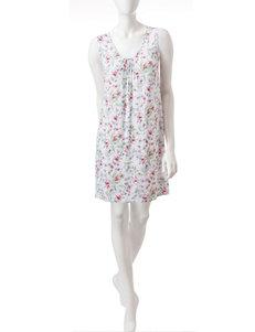Aria Floral Print Nightgowns & Sleep Shirts