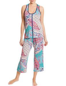 Linea Donatella Navy Pajama Sets