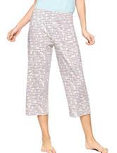 Hue® Dots N Dots Capri Pajama Pants