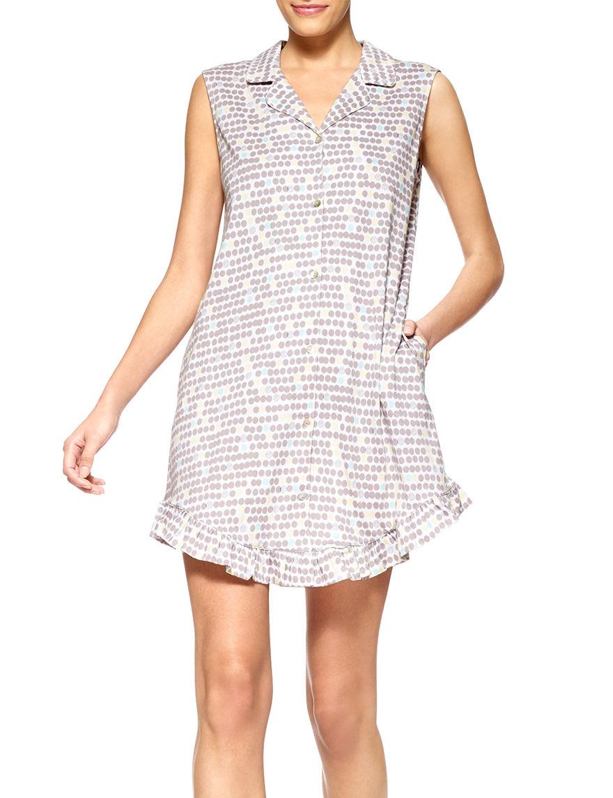 Hue Black / White Nightgowns & Sleep Shirts