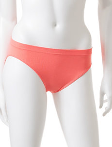Rene Rofe Orange Panties Bikini High Cut